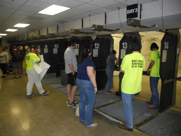 The Armed Citizen Project Oak Forest training gun range May 2013