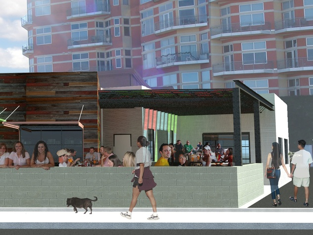 Doc's Westheimer Project March 2014 Exterior Perspective