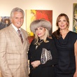 Joanne Wilson art showing_Lance Livingston_Carolyn Farb_Cindi Wilson Proler_December 2013