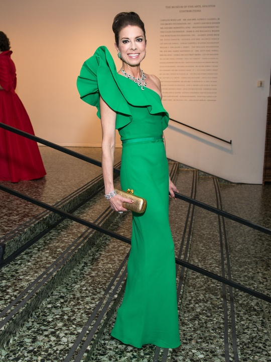 17 Karen Payne wearing Lanvin at the MFAH Grand Gala October 2014 GOWNS