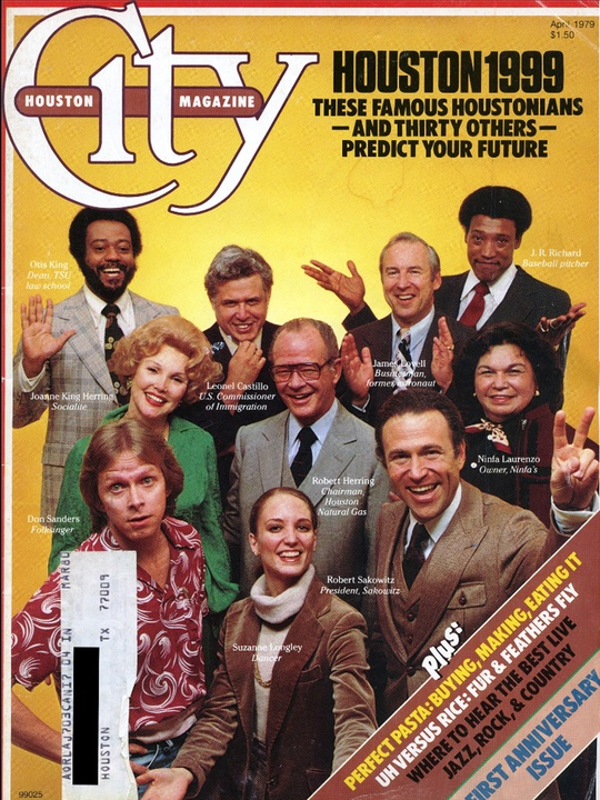 Houston City Magazine story 1979 these famous Houstonians predict your future_August 2013_Marcy