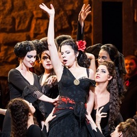 Houston Grand Opera Ana María Martínez as Carmen April 2014
