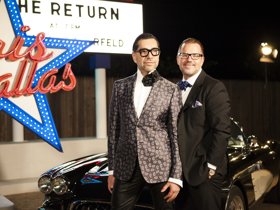 Ceron, Todd Fiscus at Chanel Metiers d'Art in Dallas