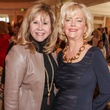 Cyndy Garza Roberts, left, and Chree Boydstun at the Passion for Fashion luncheon March 2014