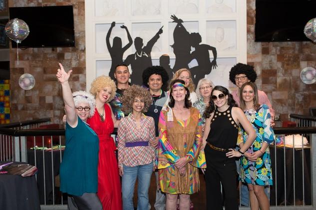TIRR Foundation gala, Feb. 2016, TIRR Foundation staff