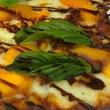 Boheme kitchen piggy peach pizza