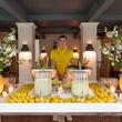 Lemonade Day, April 2013, Ladies Lemonade Celebration bar set up