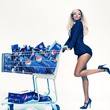 Beyonce, Pepsi, December 2012, shopping cart