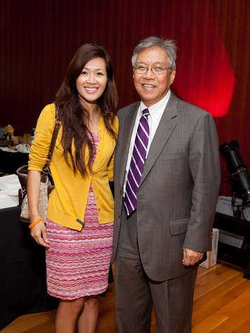 296 Tina Ho and Gordon Quan at the Leo Bar relaunch party October 2013