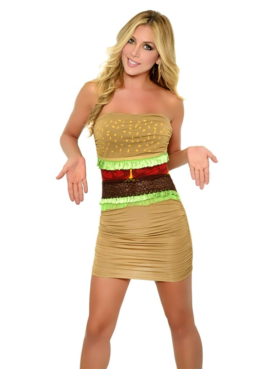 halloween costumes sexy hamburger october 2012 - Skimpy Halloween Outfits