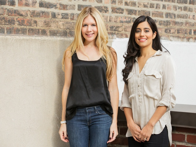 BeautyBooked founders Hillary Hutcheson and Ritika Gill