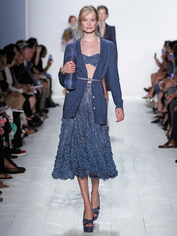 Fashion Week spring summer 2014 Michael Kors Look 21