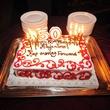 The birthday cake at Alex Martinez's birthday party July 2014