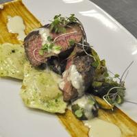 Rainbow Lodge, steak, meat, January 2013