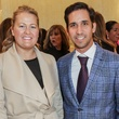 News, Shelby, Latin American Women's Initiative Kick-off, February 2015, Sarah Dionne and  Marcos Gemoets