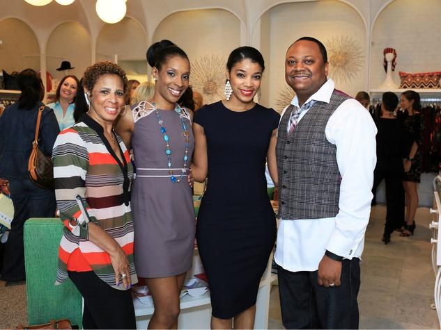 Renee Walker Henderson, Maya Hayes, Shenythia Frazier Willie, Mr. Willie