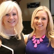 Beth Jordan and Tess Martel, just say yes luncheon