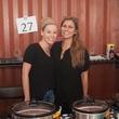 Tara Lopez, left, and Christina Mullin at the Casa de Esperanza's Young Professionals 5th Annual Chili Cook Off February 2015