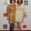 Juliè Gauthier, left, and Kelie Mayfield at the Rice Design Alliance Gala November 2013