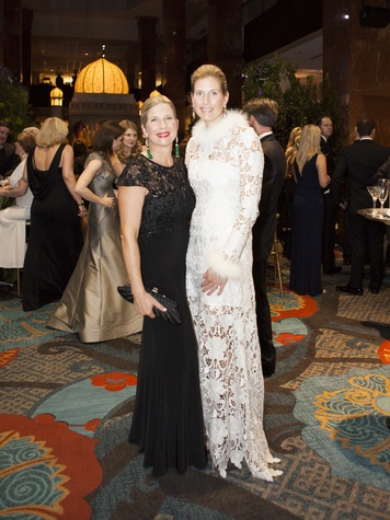 Kristi Bare, Kim Bannish, 2014 Crystal Charity Ball