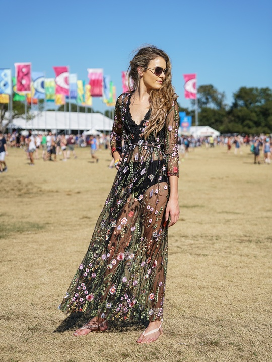 ACL Festival Weekend 2 Festival Style Virginia Vetter