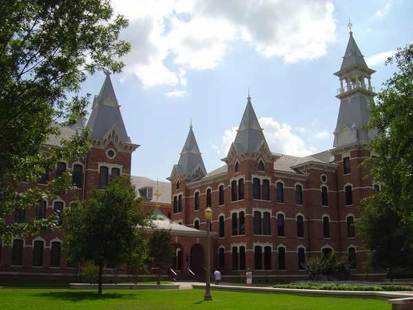 Baylor University_Old Main Building