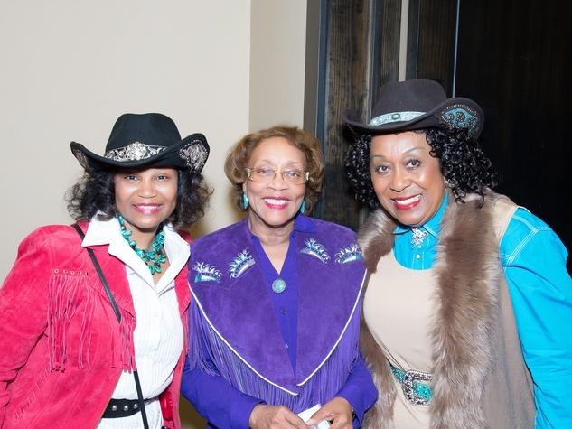 Boots and Bling Tracie Kirkland, Dr. Natalie Carroll and Joahanne Thomas-Smith