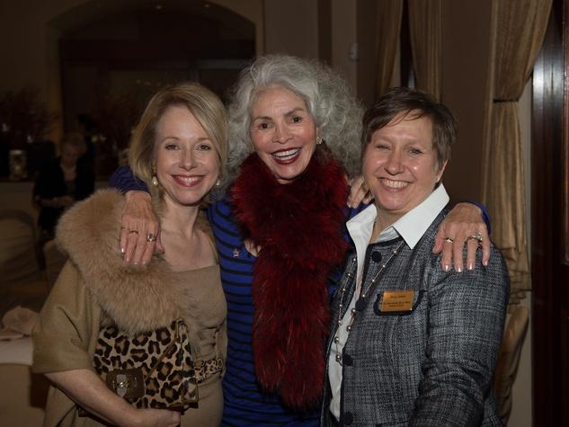 "12, Pin Oak Charity Horse Show luncheon, March 2013, Janet Tallerine, Henrietta ""Henri"" Hall, Mary Jones"