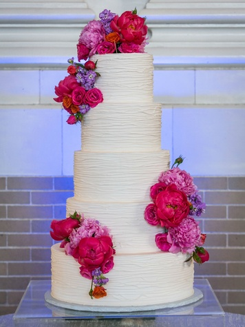 Monica Kitt Wedding, Cake