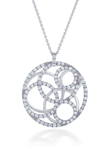 Best Buddies Auction items May 2014 De Beers pendant
