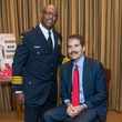 4 Charles McClelland, left, and John Stossel at the Crime Stoppers Gala November 2014