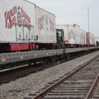 Ringling Bros. Cirus, Arriving in Town, Train, July 2012