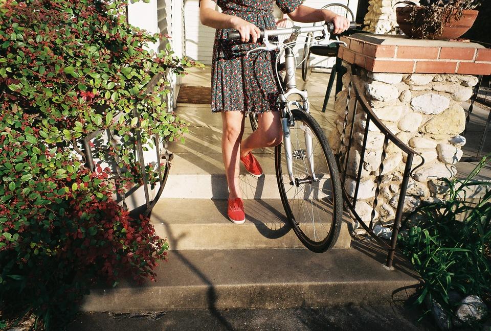 Austin Photo Set: Photo Essay_Katherine Squier_Summer in Austin_bike still