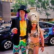 263 Xan White and Deanna Longo at the Art Car Ball April 2015