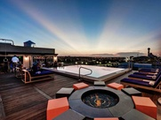 Rooftop pool at NYLO South Side