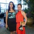 5 Marianelly Noble, left, and Kenya Navarro at the Latin Womens Initiative May 2014