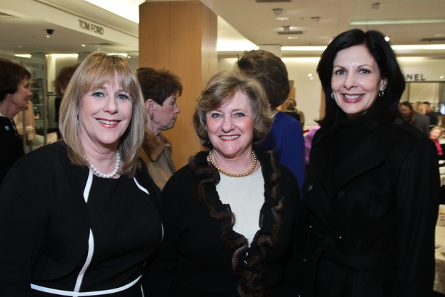 News, Shelby, Salvation Army Tea, Feb. 2015, Stacey Swift, Lucy Lewis, Jeanne Ruberti