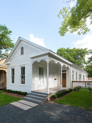 Good Brick Awards 2015 Carl and Karine Hollimon Victorian cottage in Old Sixth Ward Historic District