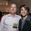 Gilbert and DeeDee Garcia at the Mayor's Hispanic Heritage Awards event October 2014