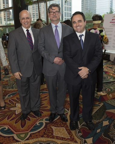 Houston, Kick Out Kidney Disease Luncheon, May 2015, Dr. Juan Olivero, Kevin Longino, Dr. Horacio E. Adrogue