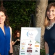 Andrea Files, left, and Joanna Hughes at the Blue Plate Special kick-off April 2014