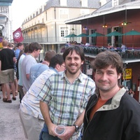 """News_Jeremy_road trip_day 1_Colin """"Dabbo"""" Dabbs and Jay 'Doogie"""" McMurrey on Bourbon Street"""