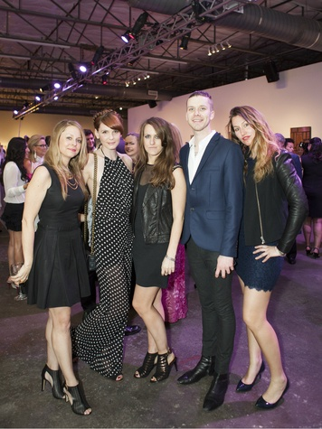 Jill Tully, Alison Gough, Julie Allen, Ty Mooney, Philippa Foulsham at MTV RE:DEFINE 2014