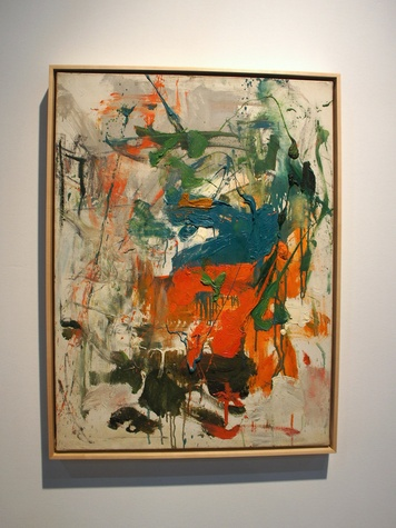 13, Texas Contemporary Art Festival, wrap up, October 2012, Joan Mitchell, Untitled, 1960
