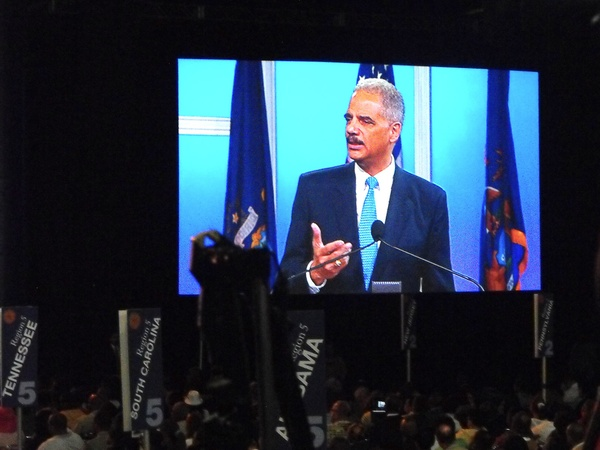 Eric Holder, NAACP conference, July 2012