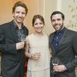 14 Houston Ballet reception April 2013 Linnar Looris, Jessica Collado, Connor Walsh