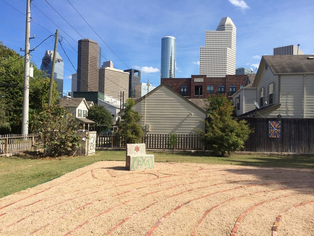 1 Freedmen's Town Labyrinth January 2015