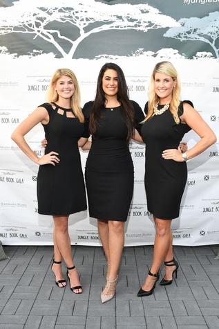 Audry Miller, Tiffany LaRose, Casey Sailor at Barbara Bush Foundation gala kickoff