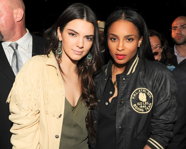 Kendall Jenner and Ciara at Ralph Lauren Polo event
