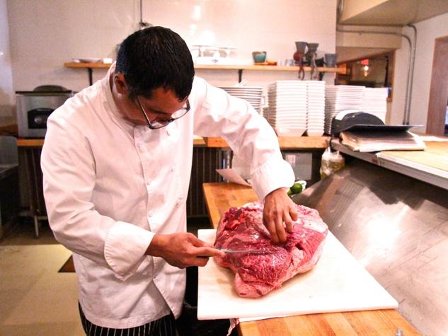 Austin restaurant Salty Sow chef Nox Ybarra